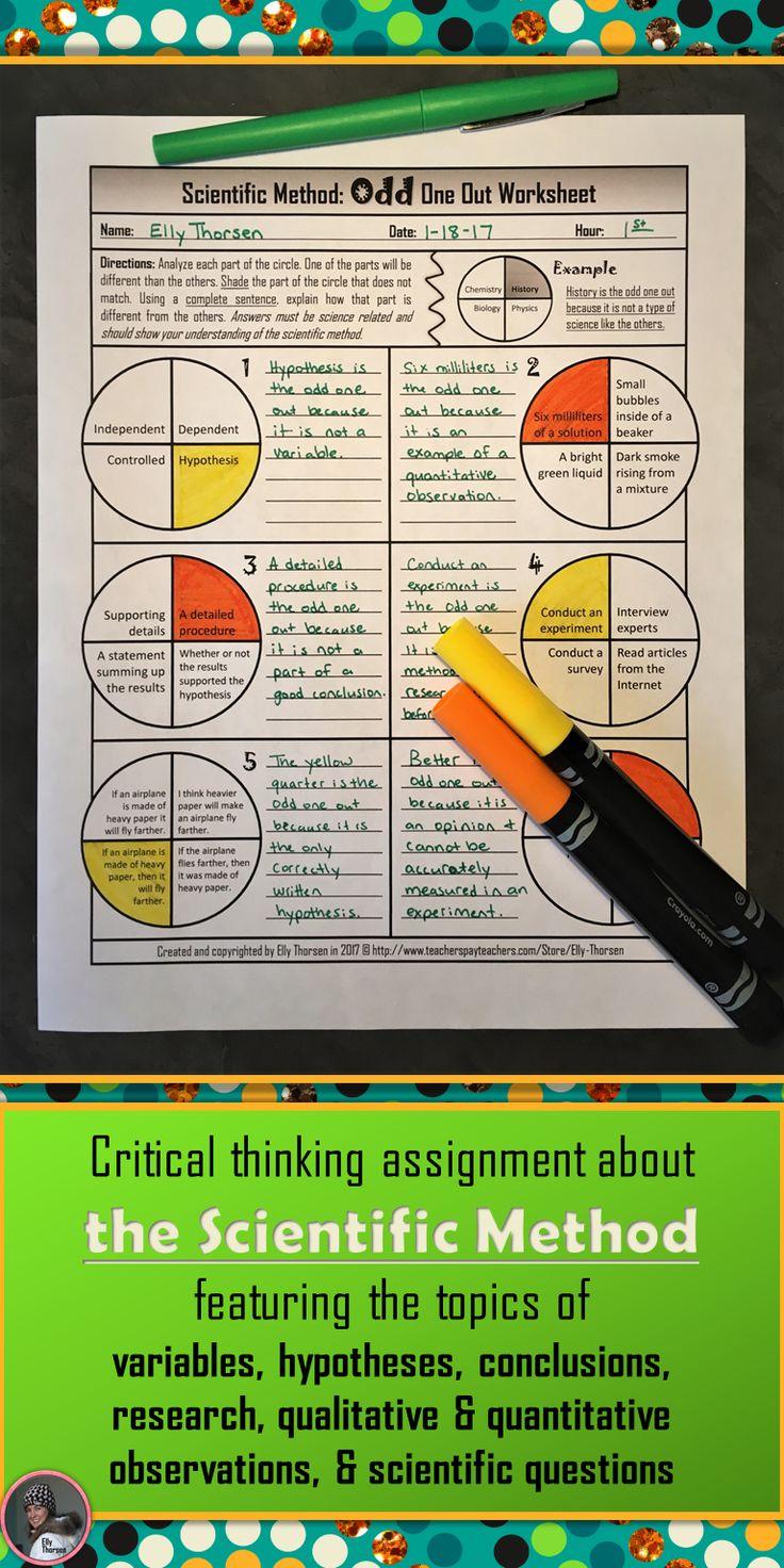 Essay On The Scientific Method 17 Best Ideas About Scientific