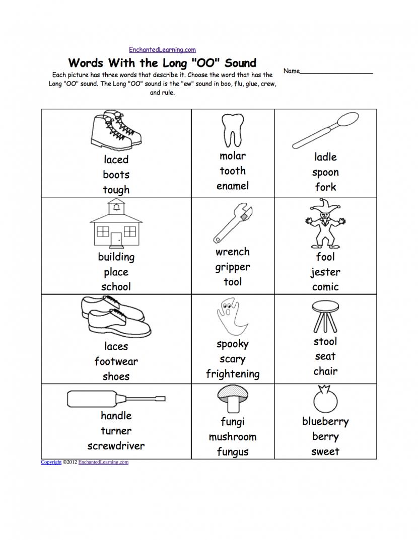 Ew Sound Worksheet Worksheets For All