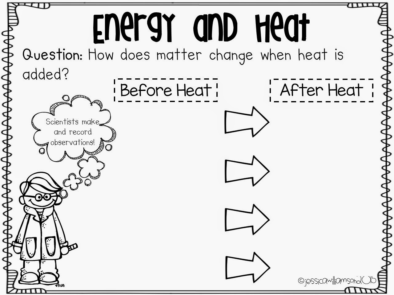 Fair 4th Grade Science Lessons On Heat With Heat Energy Worksheets