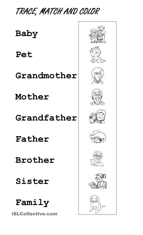 Family Members Preschool