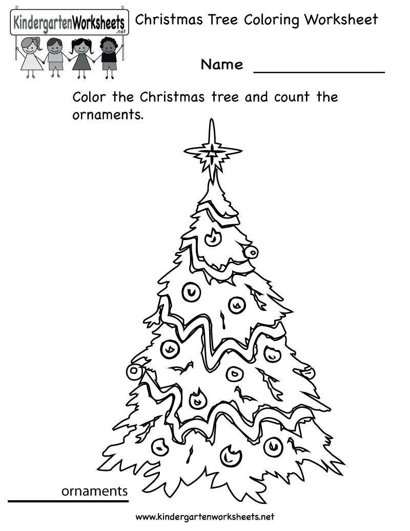 Free Christmas Worksheets Printables For Preschoolers