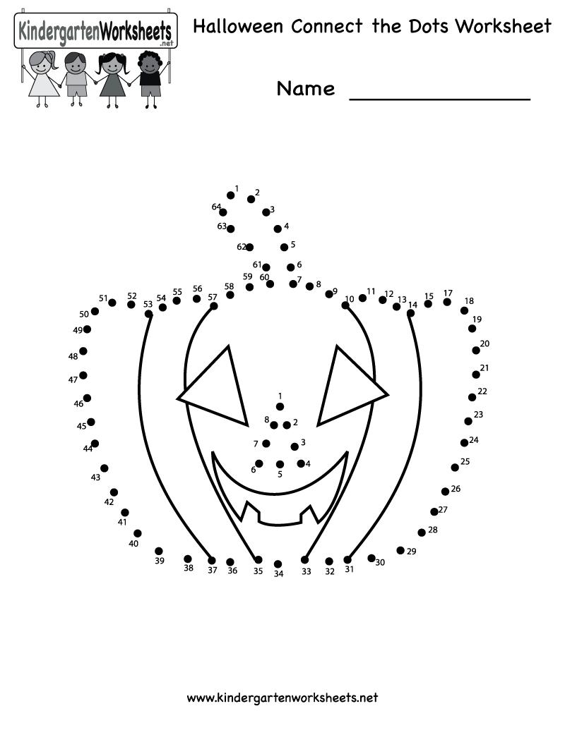 Free Halloween Worksheets For Kindergarten Worksheets For All