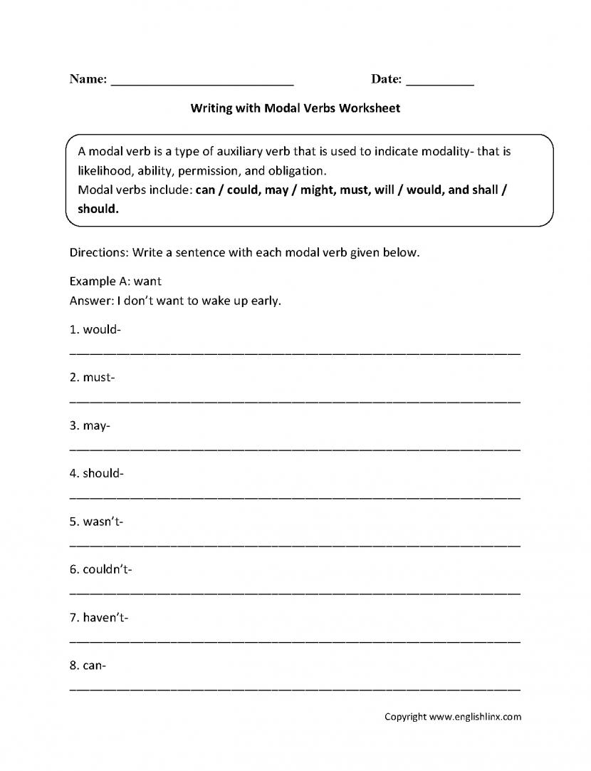 Irregular Verbs Worksheet 2nd Grade – Worksheets Samples