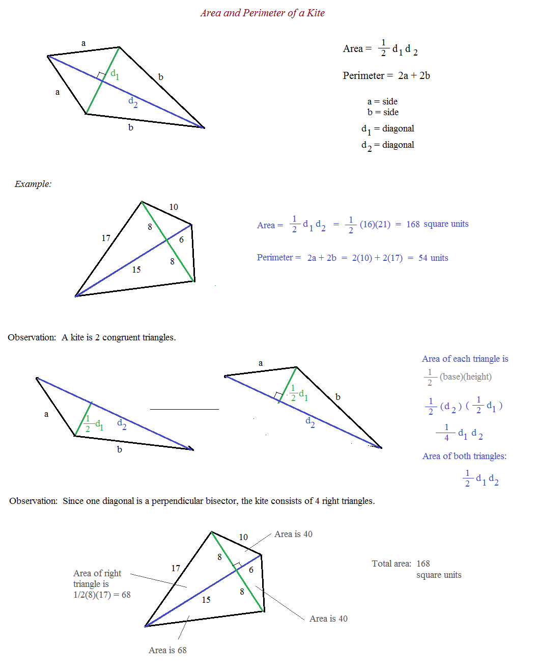 Kite And Trapezoid Properties Worksheet Worksheets For All