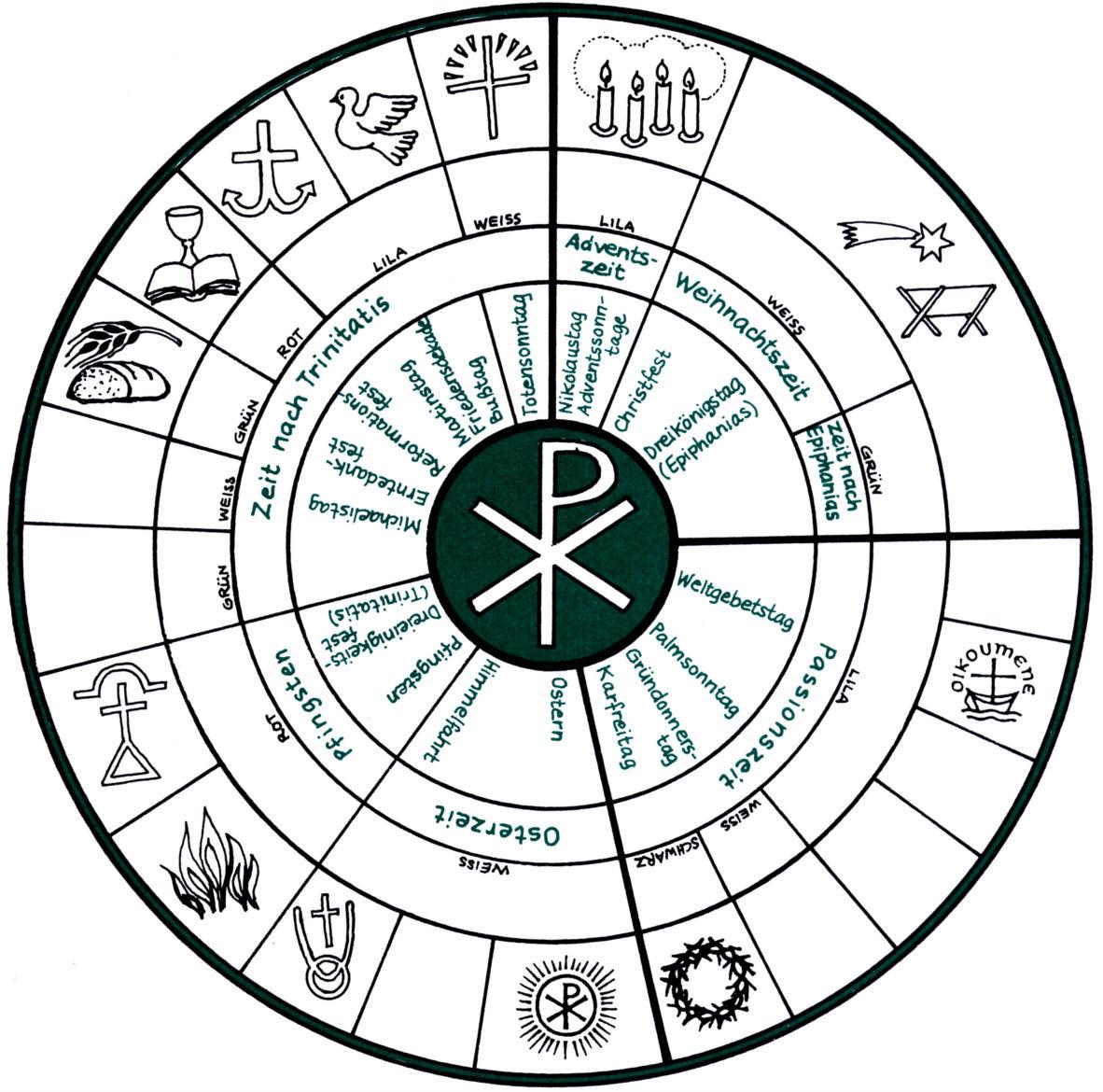 Liturgical Calendar Worksheet Worksheets For All