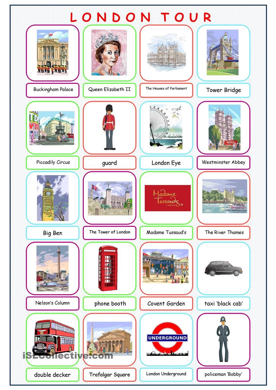 London Tour Picture Dictionary …