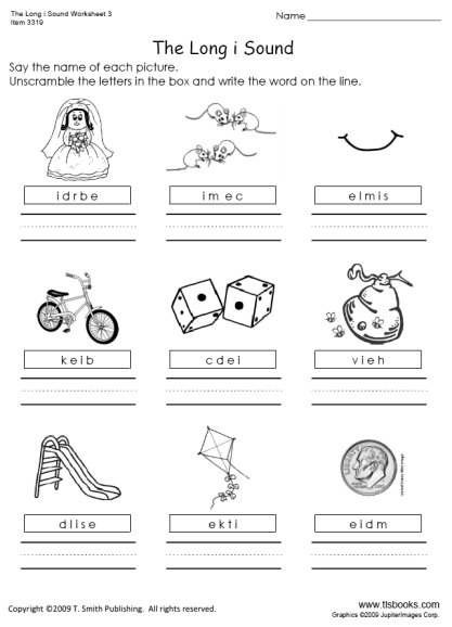 Long A Sound Worksheets The Best Worksheets Image Collection