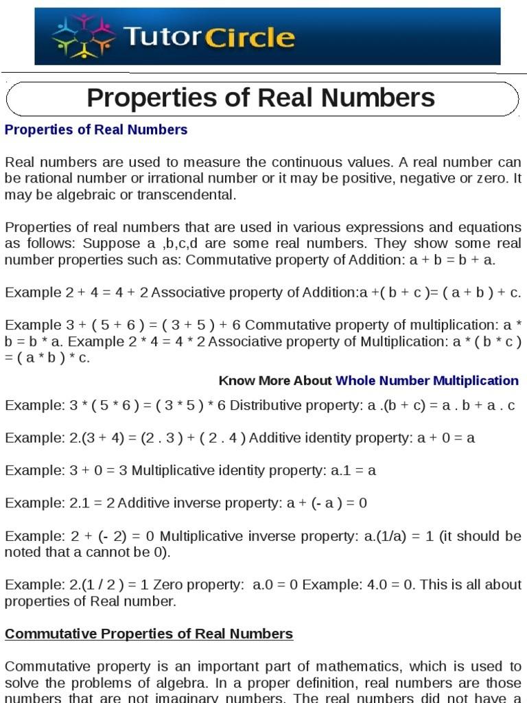 Multiplication Drill Sheets 3rd Grade Commutative Property Of