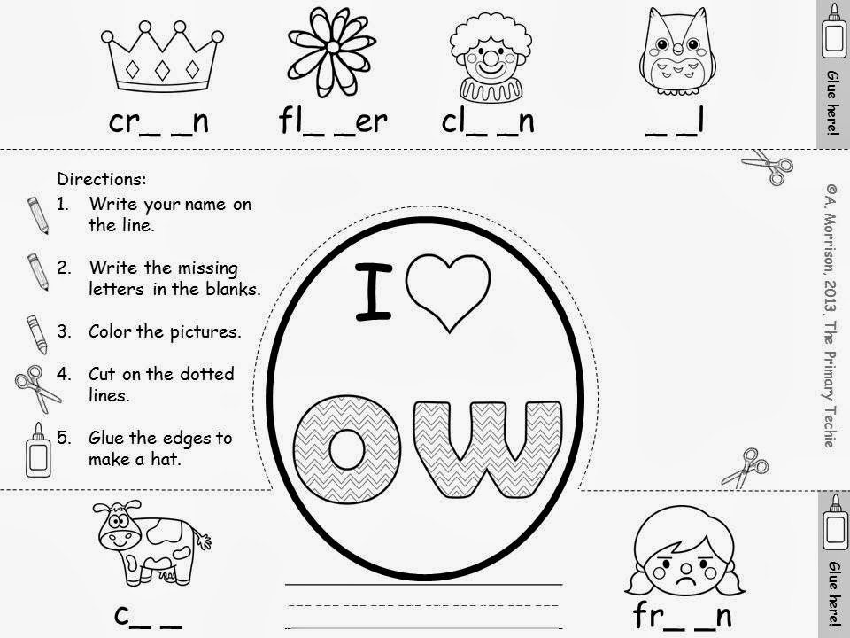 Ou And Ow Sound Worksheets The Best Worksheets Image Collection