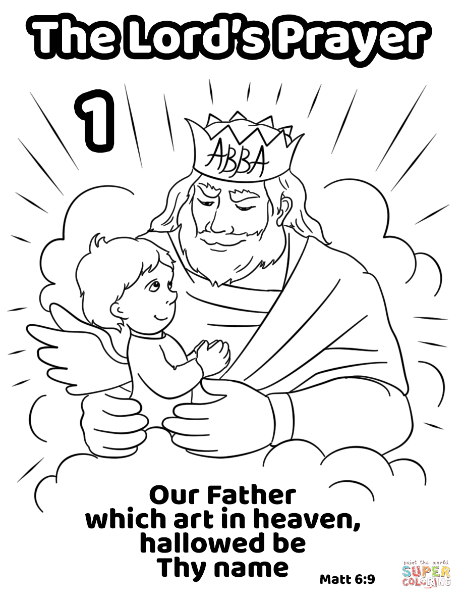 Our Father Fill In The Blank Worksheet Worksheets For All