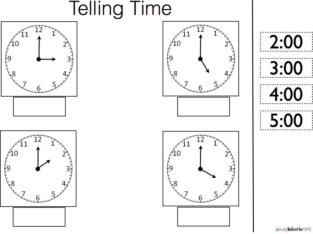Pleasant Learning Time Worksheets Preschool In Prek Kinder Math