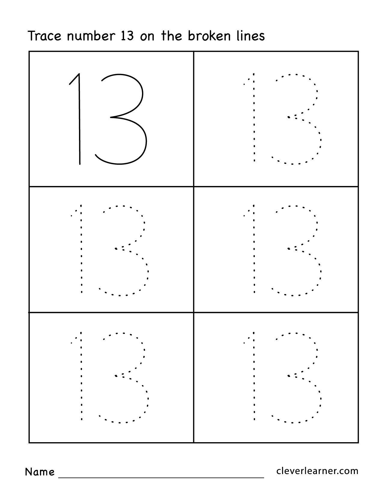 Prek Worksheets Numbers The Best Worksheets Image Collection