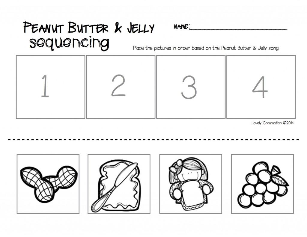 Sequencing Worksheet For Kindergarten Worksheets For All