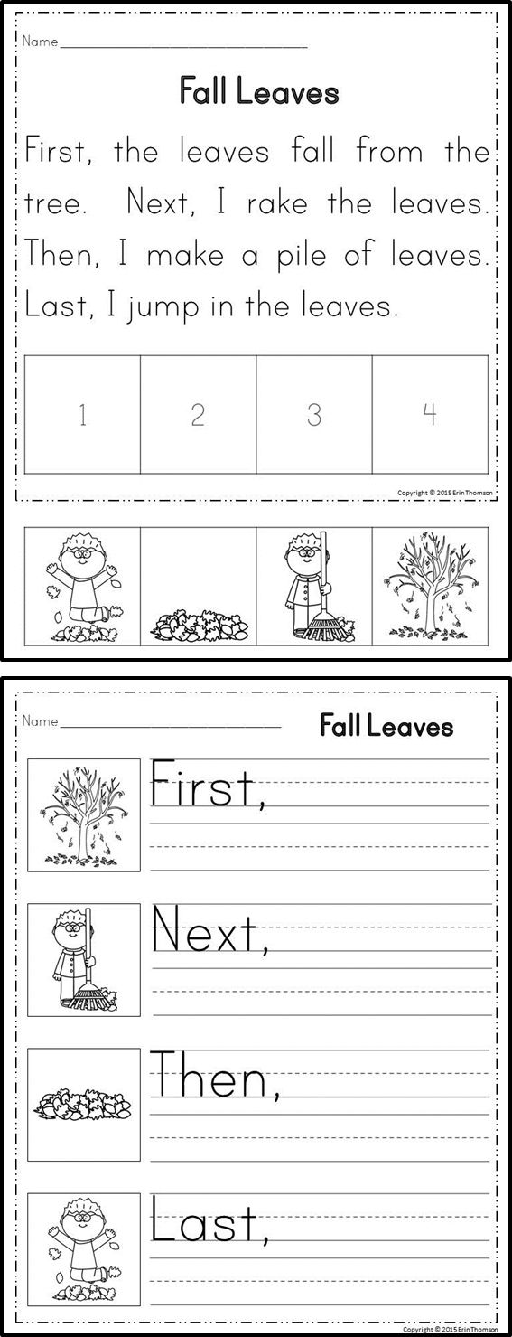 Sequencing Worksheets 5th Grade For All