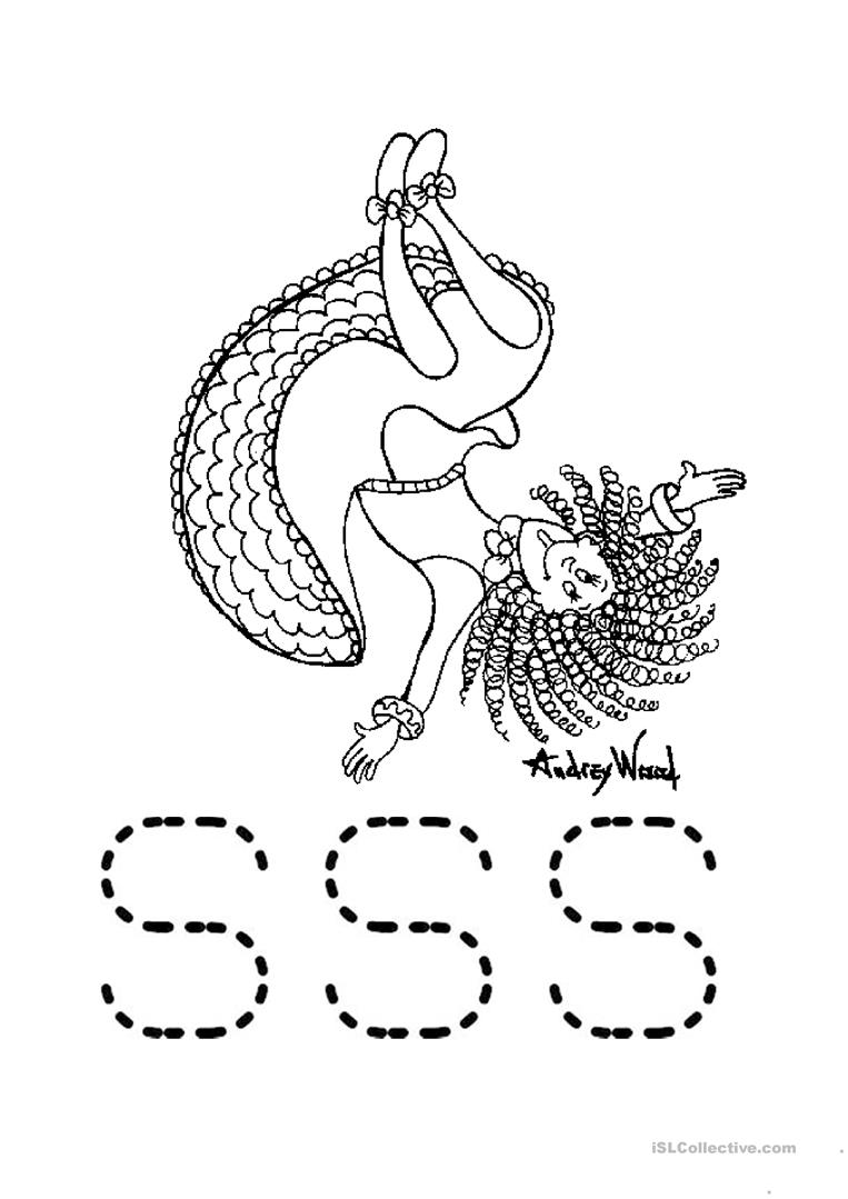 Silly Sally Worksheet Worksheet