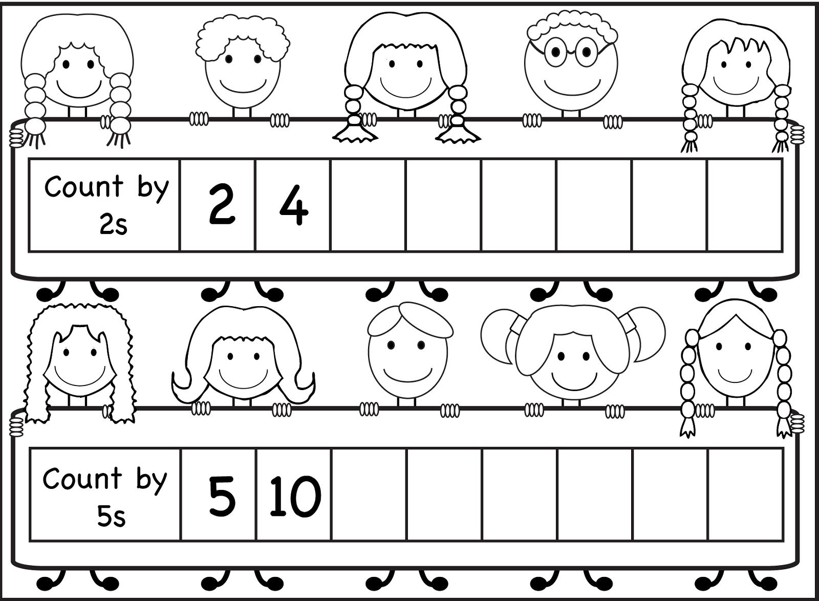 Skip Count By 5 Worksheet 2016