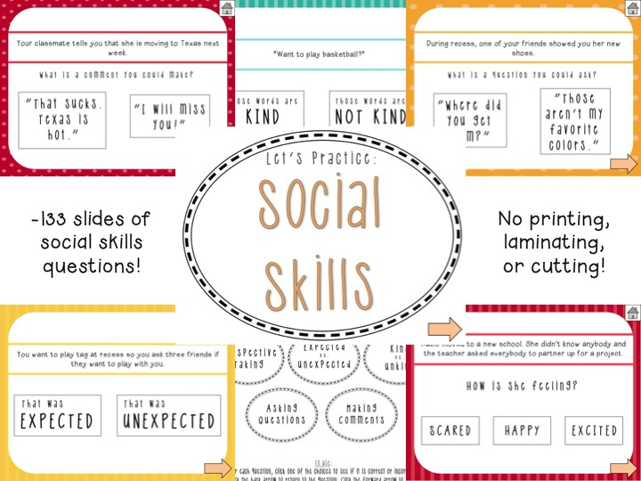 Social Skills Worksheets Free The Best Worksheets Image Collection