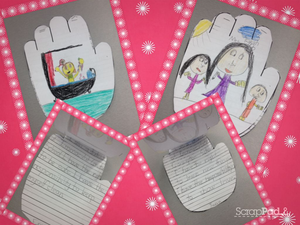 Students Write What Their Roles, Rights And Responsibilities Are