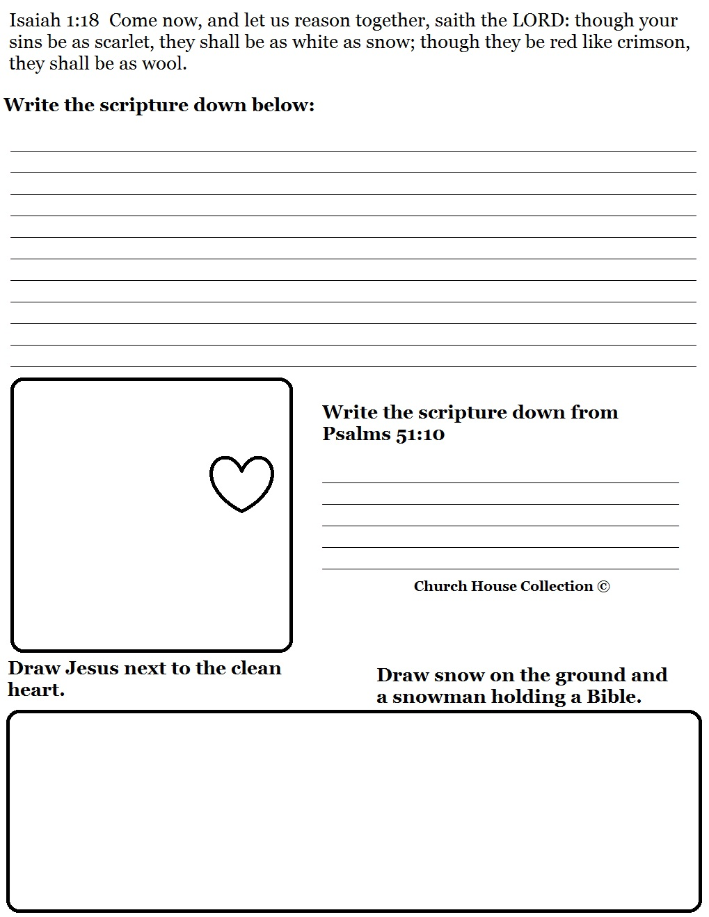 Sunday School Worksheets For Kids Worksheets For All
