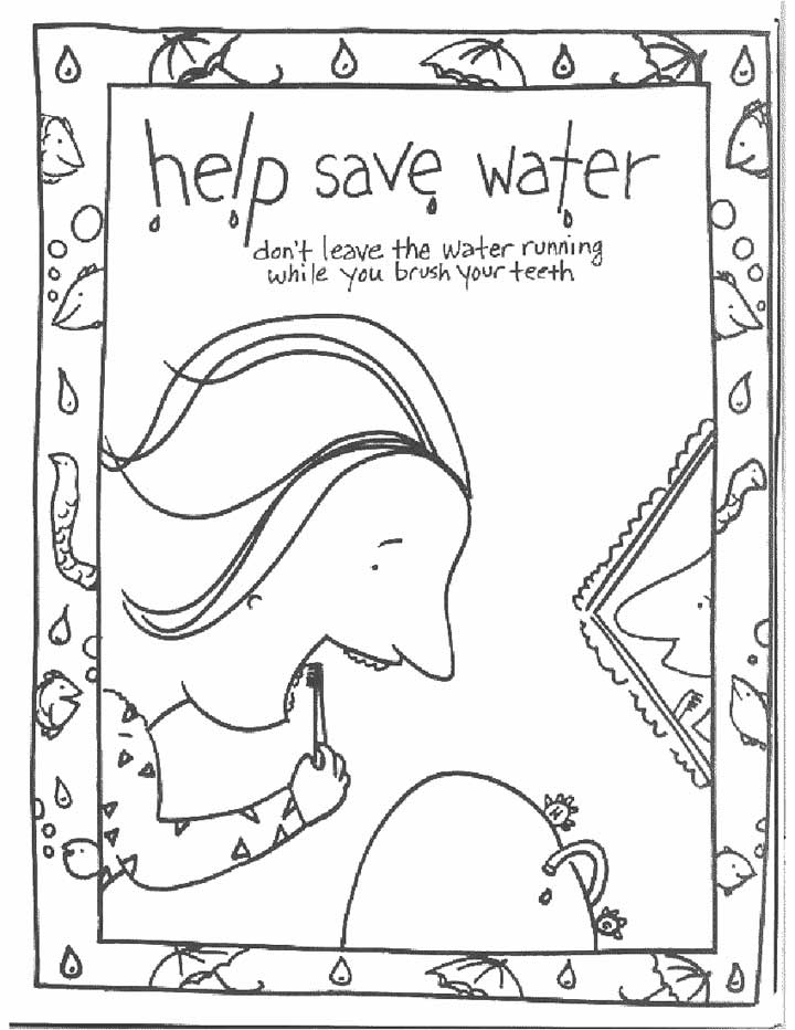 Surprising Water Coloring Pages Free Cycle Page Printable