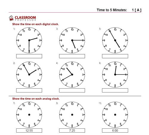 Unusual Clock Worksheets Overview Grade Kindergarten Reading