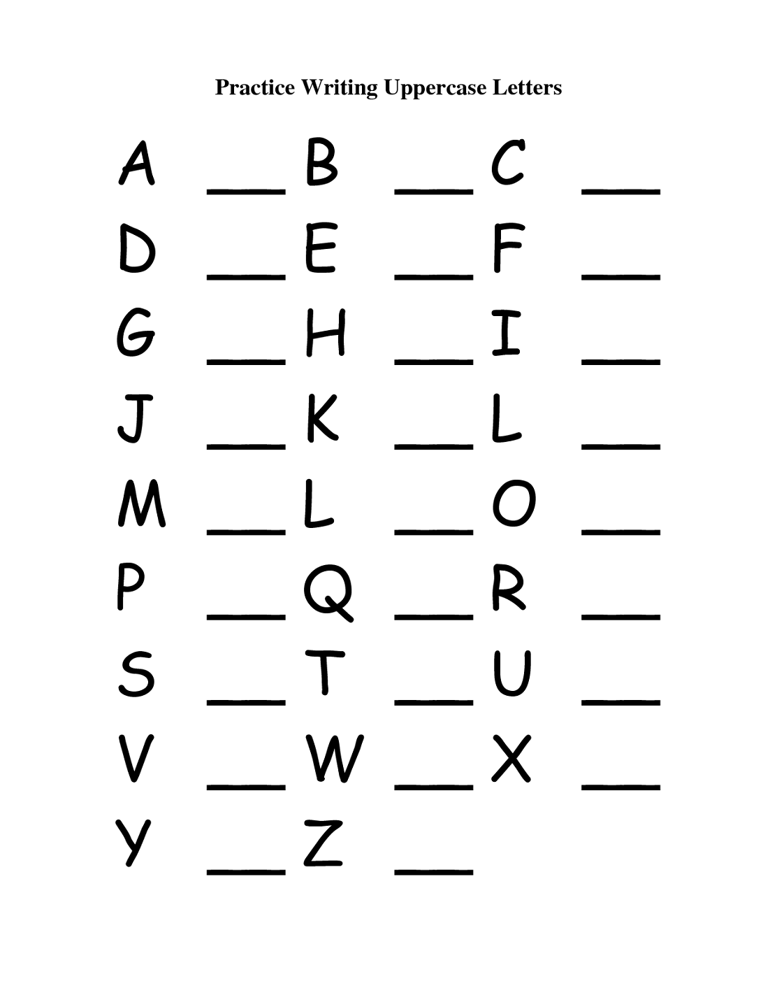 Uppercase And Lowercase Letters Worksheet Worksheets For All