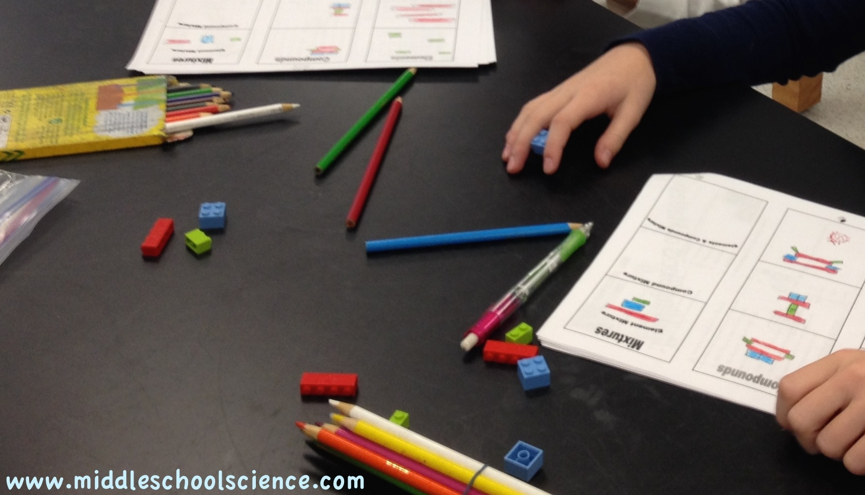 Using Lego Bricks  Elements, Compounds, And Mixtures Activity