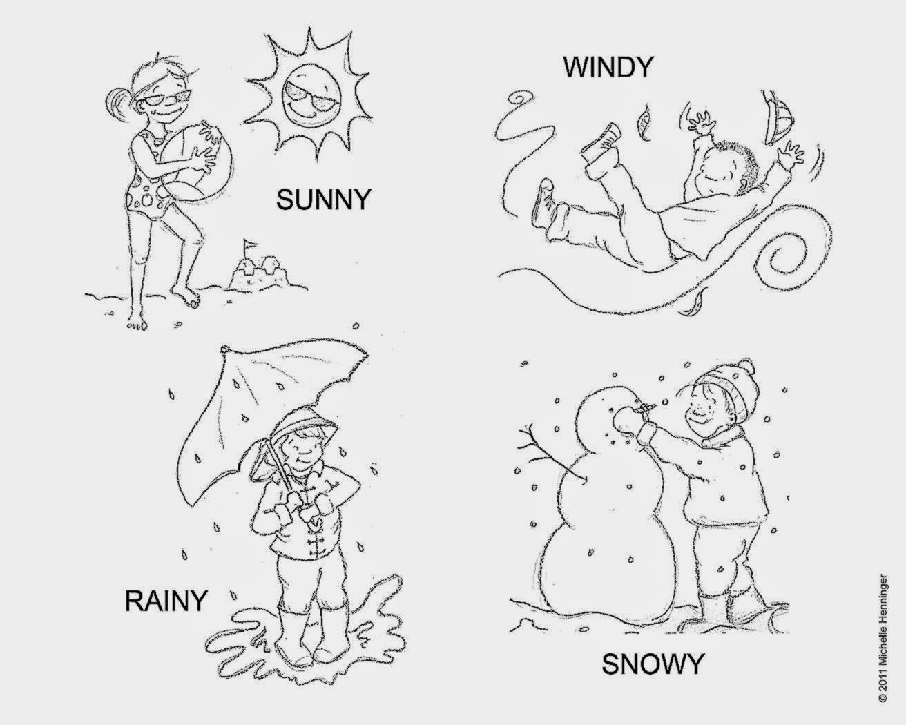Weather Coloring Page 3 13790 Within Pages