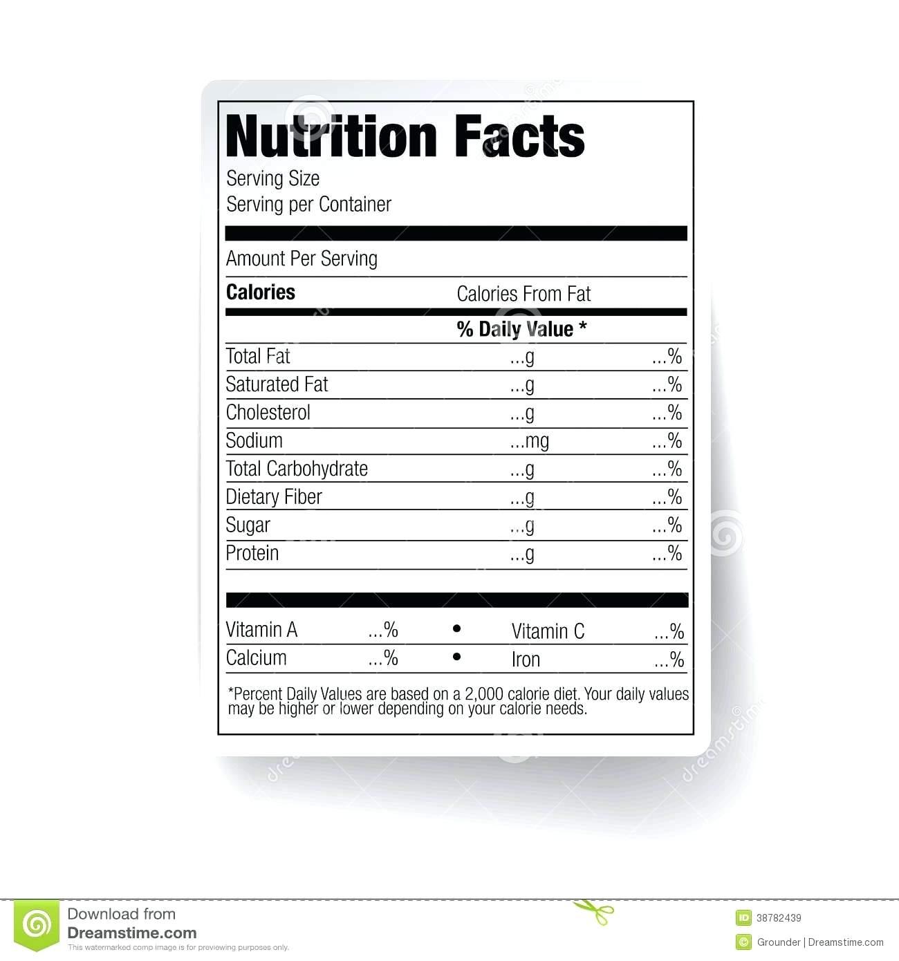 Worksheet  Nutrition Label Worksheets