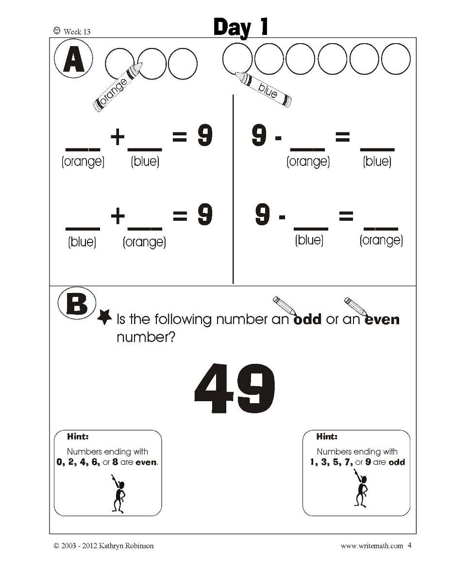 1st Grade Math Pdf Final T Worksheets Additions For First