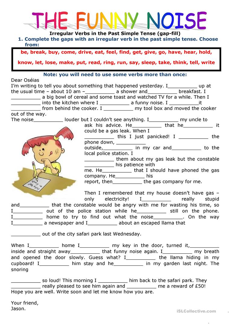 2239 Free Esl Past Simple Tense Worksheets