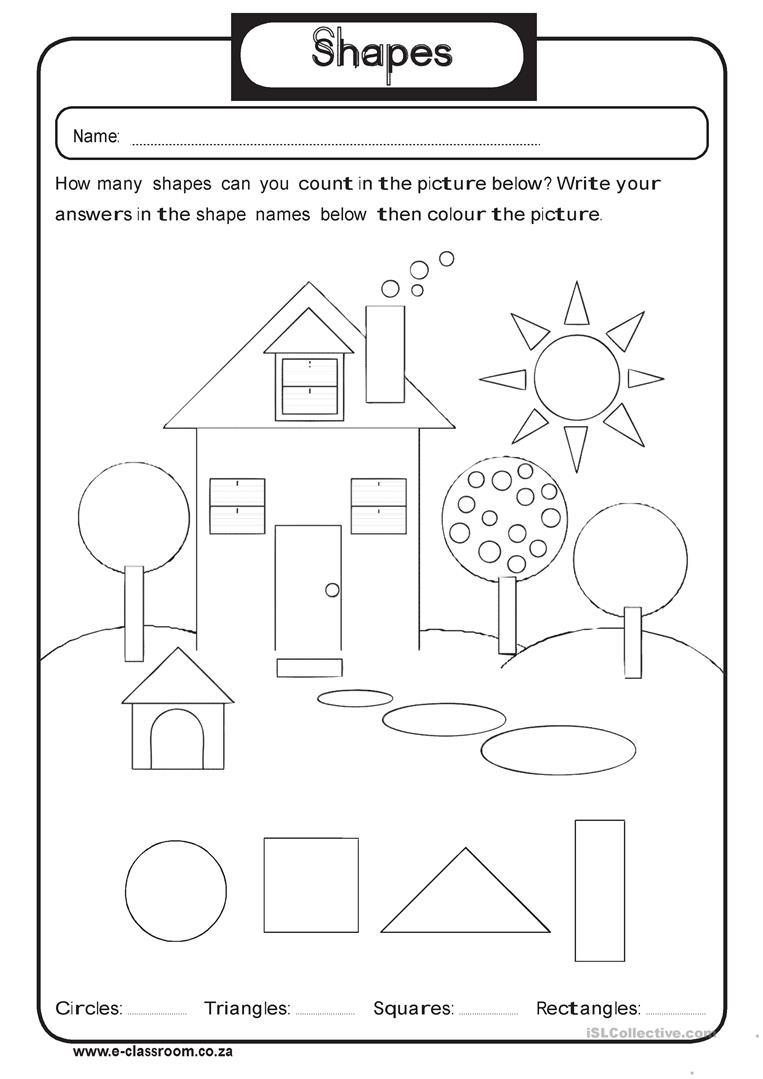 48 Free Esl Kindergarten Worksheets