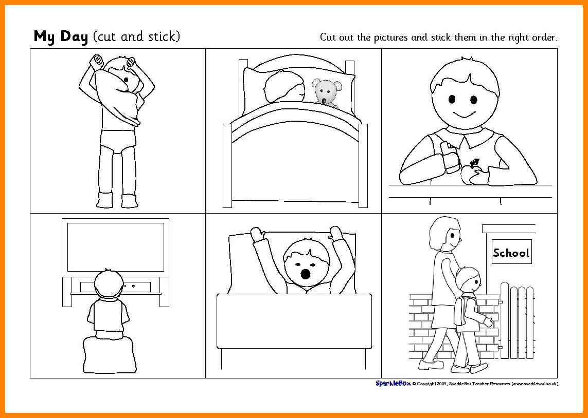 5 Sequence Of Events Worksheet Liquor Samples Kindergarten Story