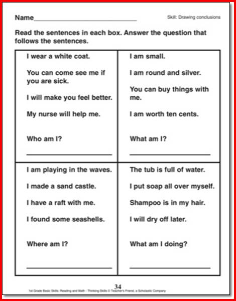 5th Grade Drawing Worksheets Worksheets For All Download And Share
