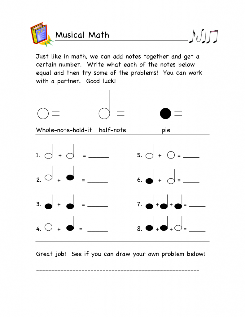 5th Grade Music Worksheets For All Download And Share Kindergar