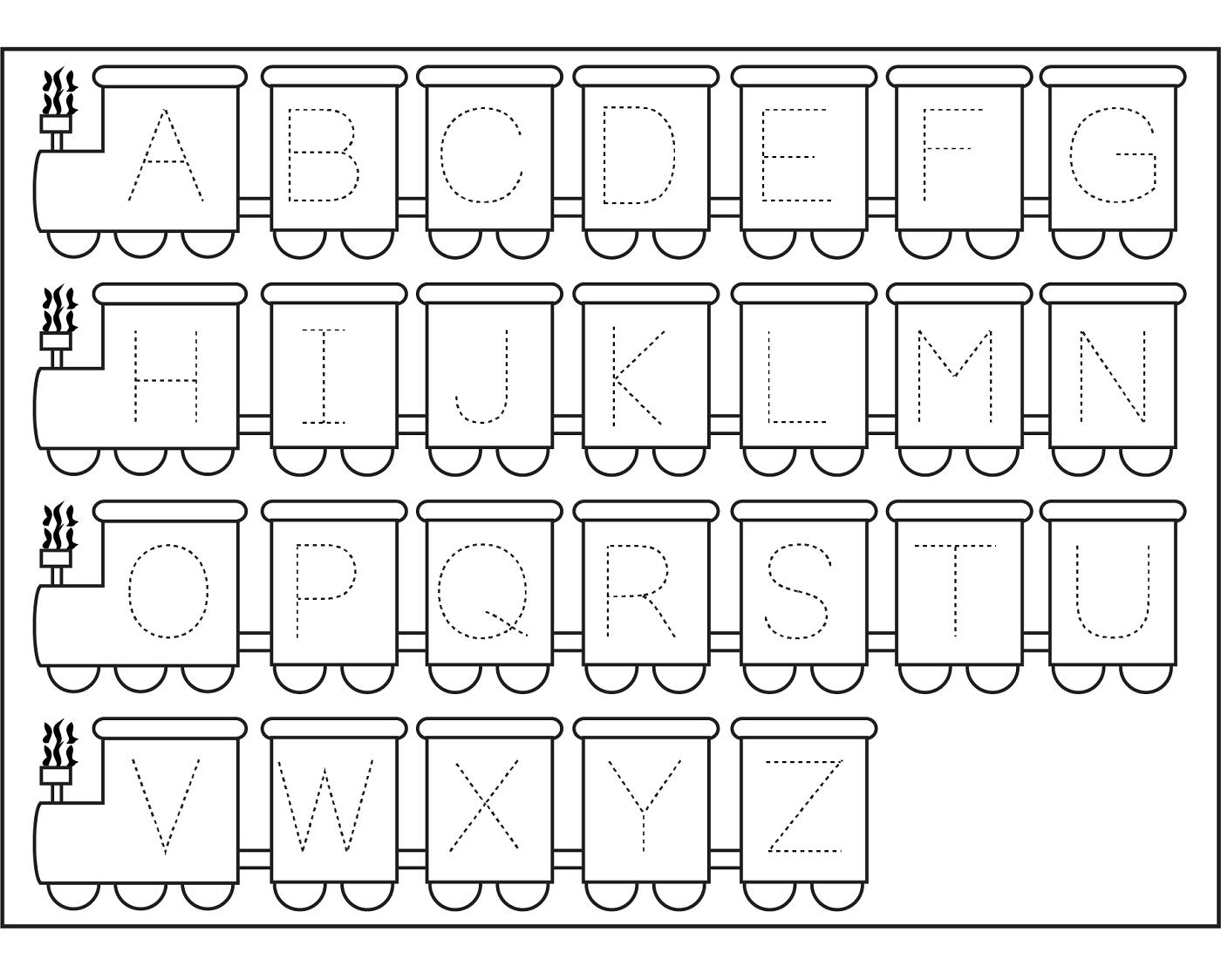 Alphabet Worksheets Preschool Worksheets For All