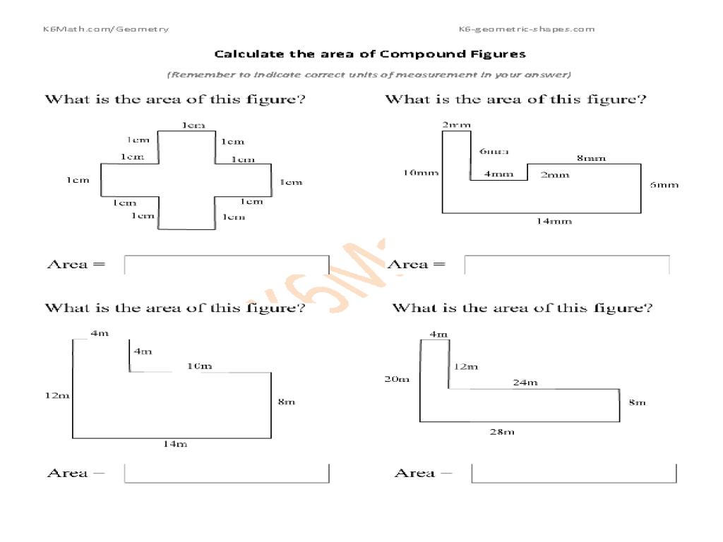 Area Of Similar Figures Worksheet Worksheets For All