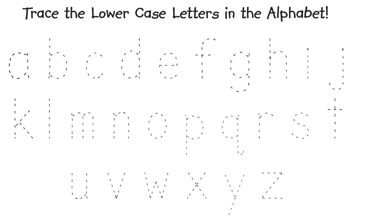 Big And Small Alphabet Worksheet