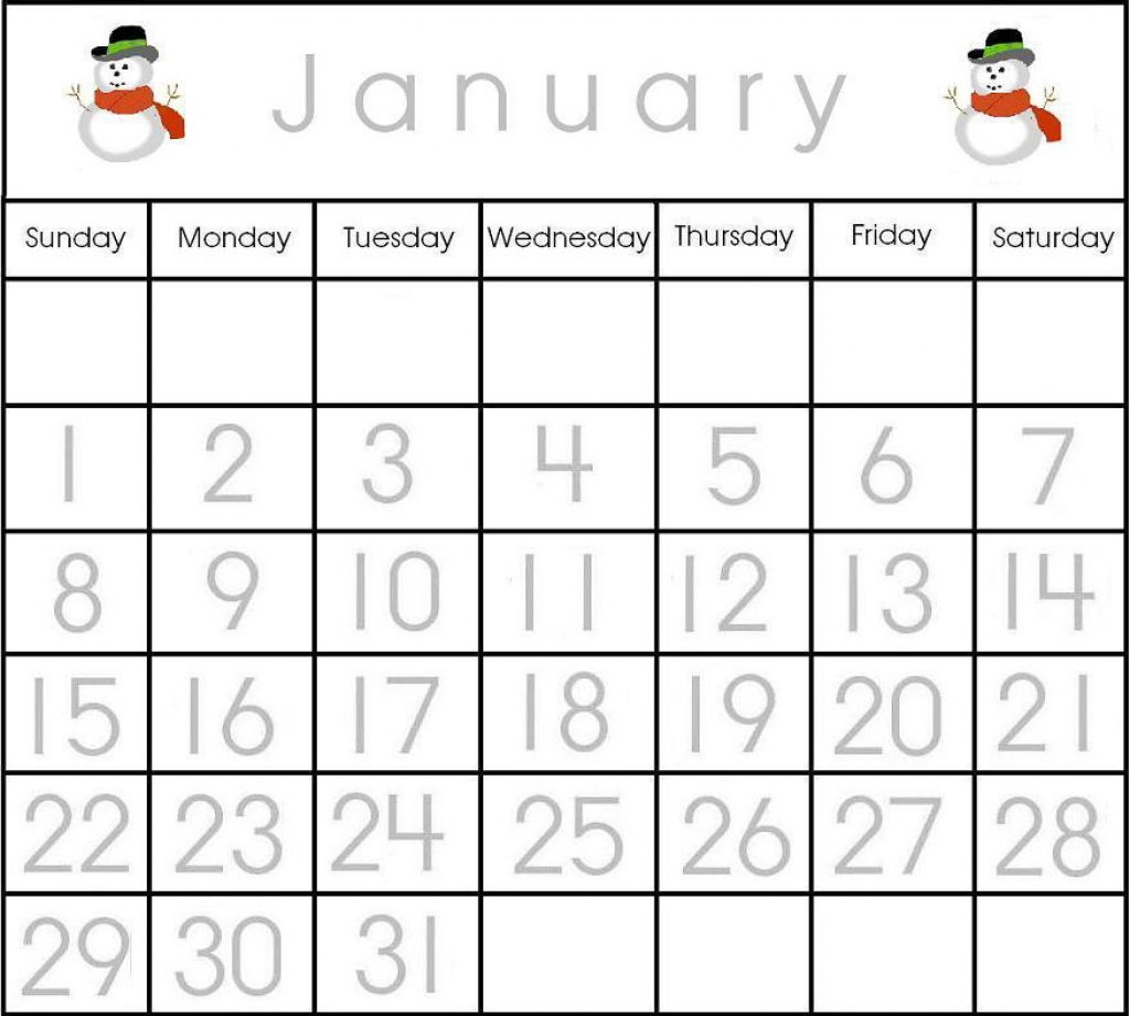 Calendar Worksheet For Kindergarten Worksheets For All