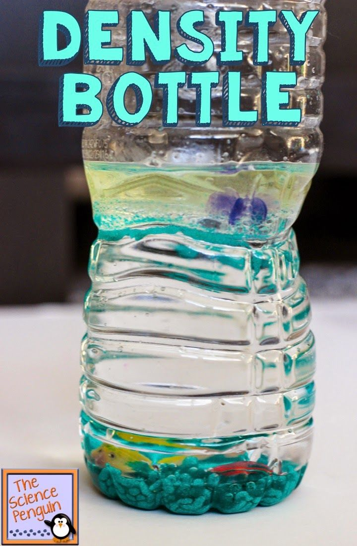 Density Bottles Activity Fun