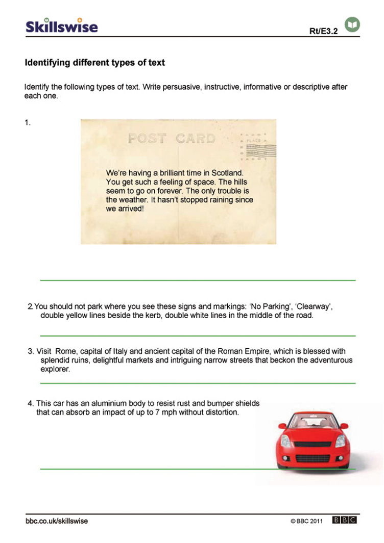 Different Types Of Worksheets Worksheets For All