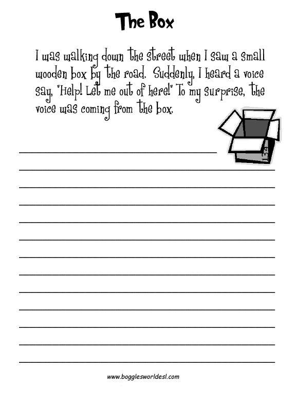 Essay Writing Prompts Esl