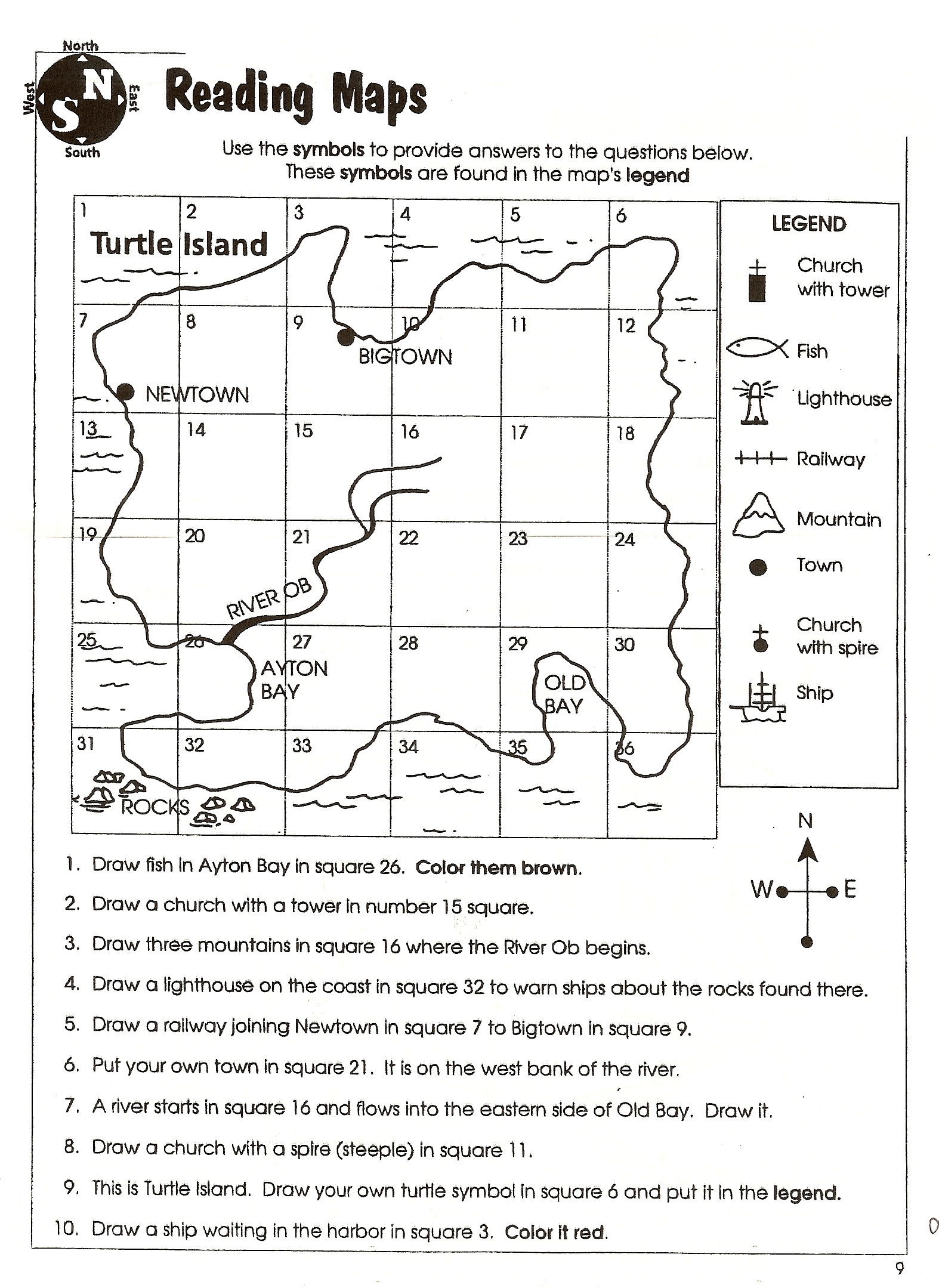 Free Printable Maps And Directions