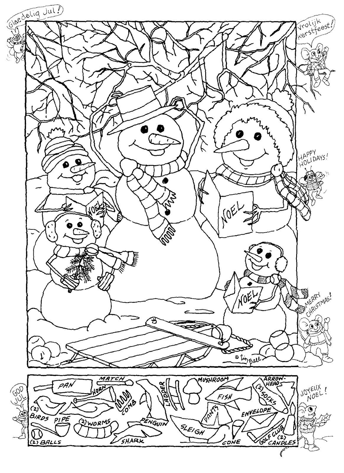 Full Hidden Pictures Printables For Kids Christmas Picture Woo Jr