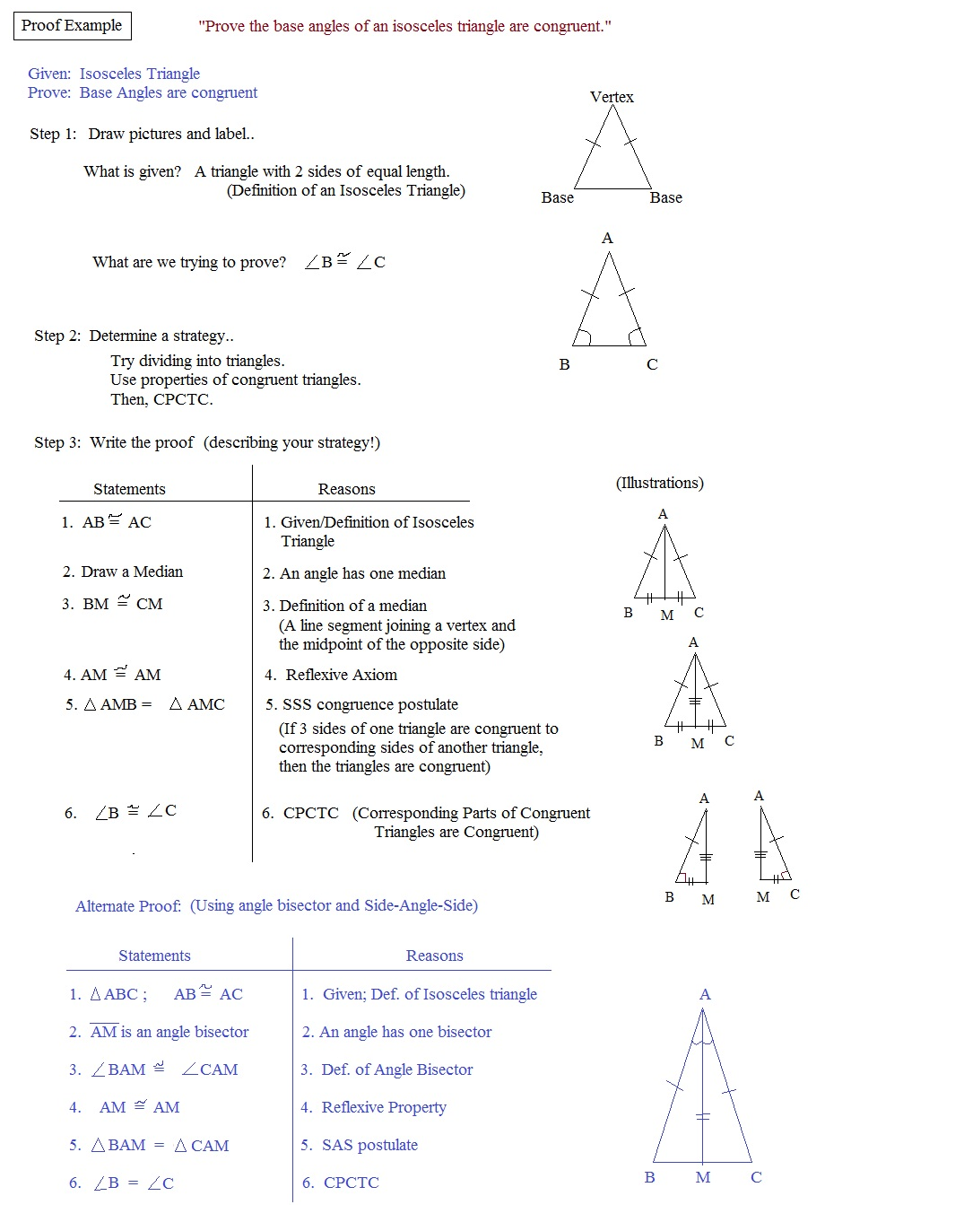 Geometry Proving Triangles Congruent Worksheet Answers Worksheets