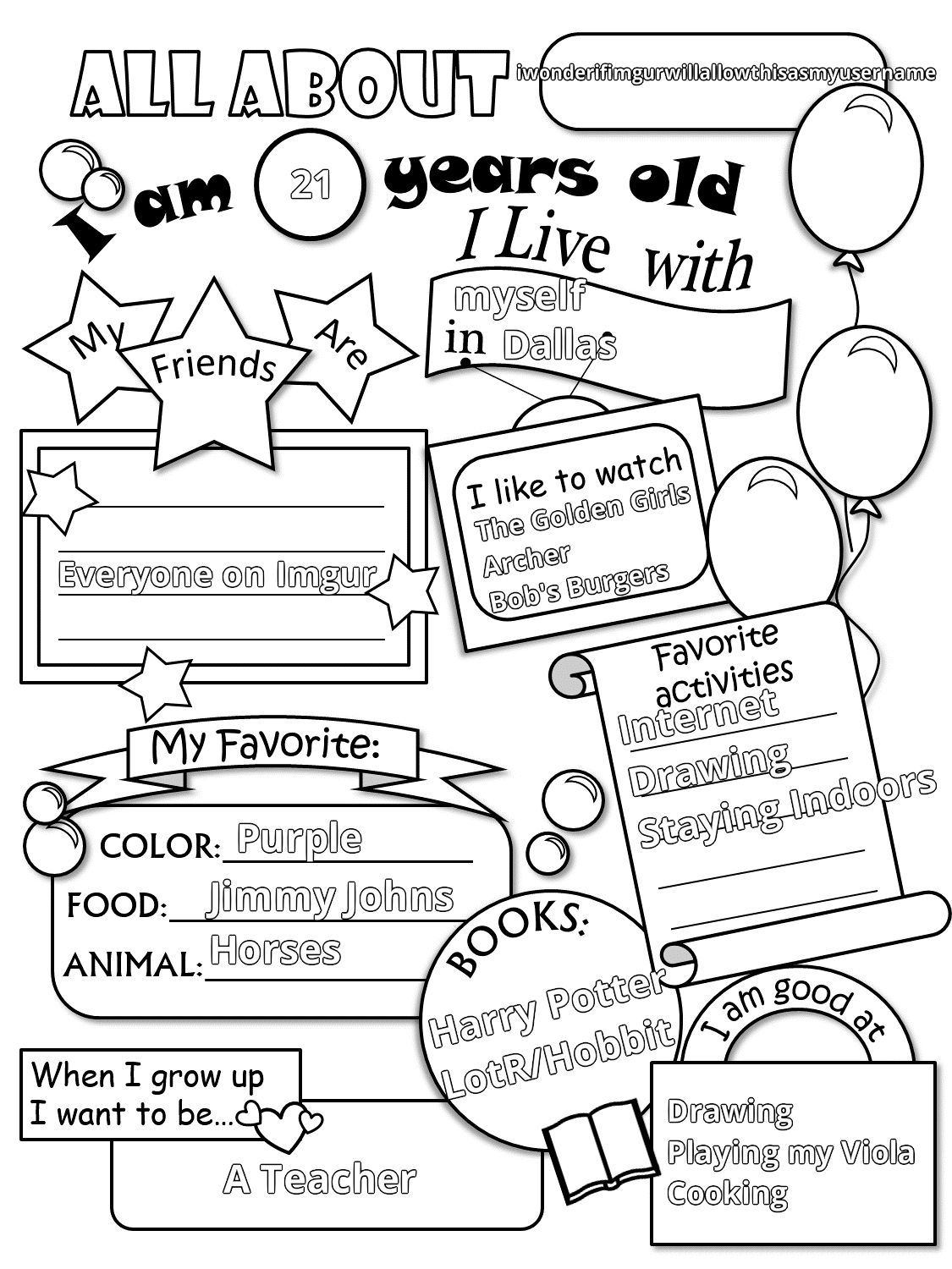 Get To Know Students Worksheet Free Worksheets Library