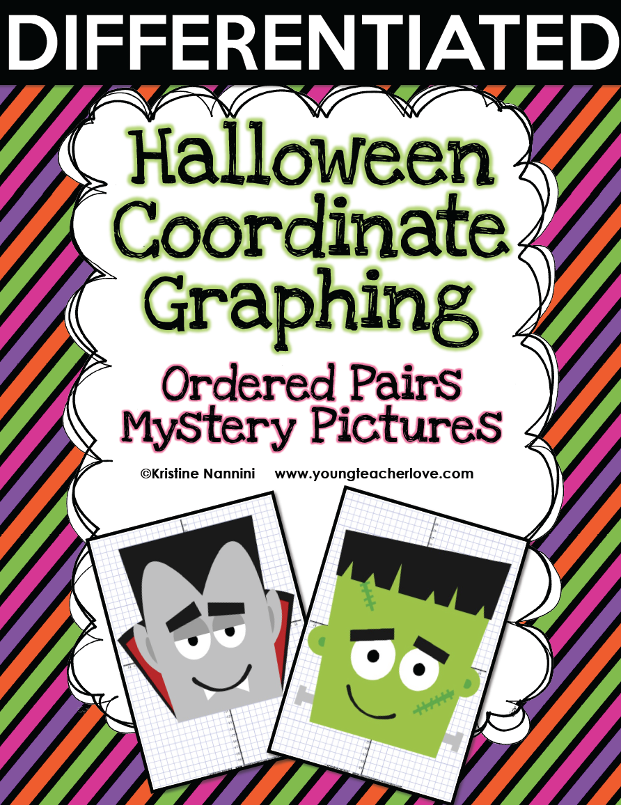 Coordinate Graphing Worksheets Halloween