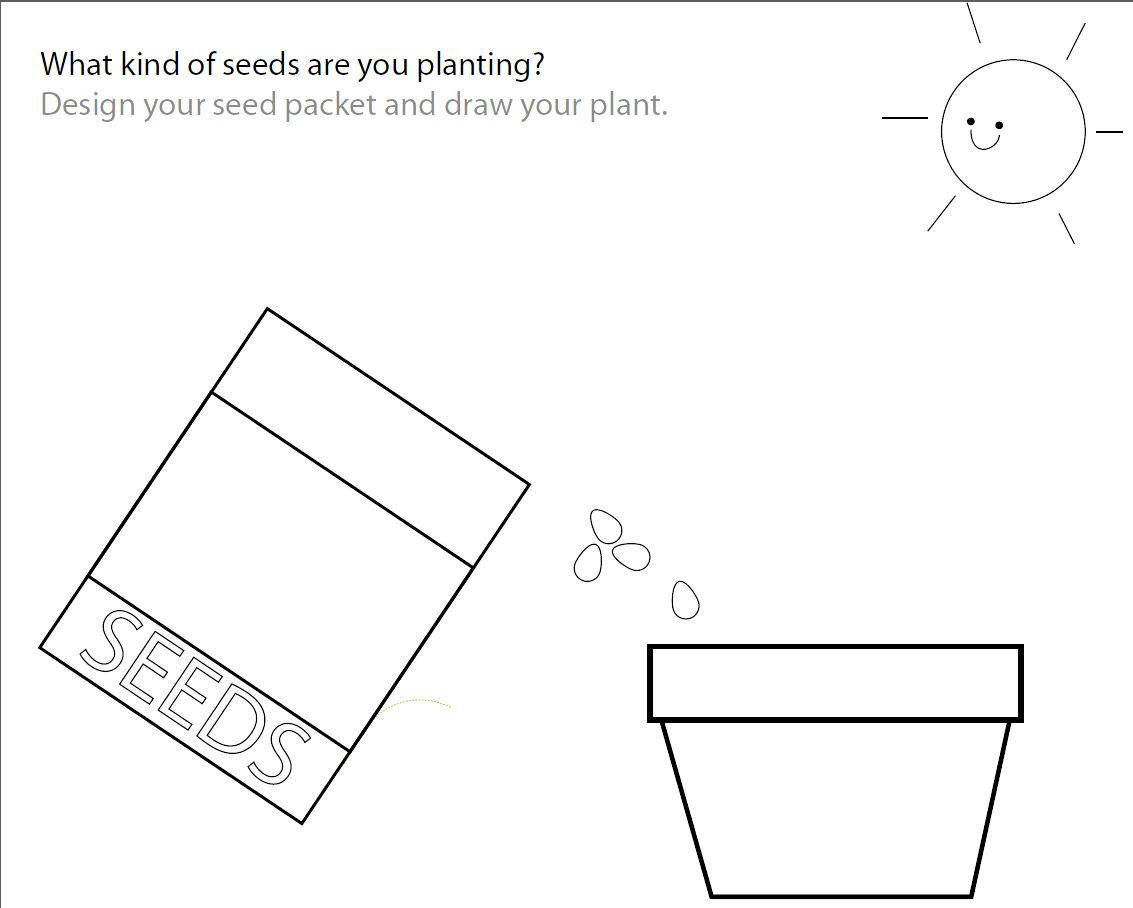 How To Plant A Garden Worksheet