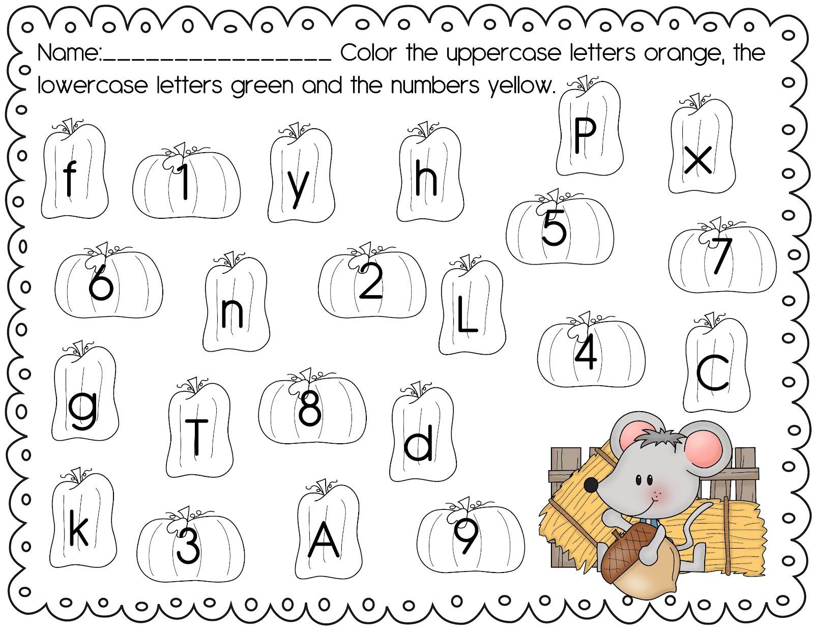 Kids  Pre K Homework Sheets  The Crazy Pre K Classroom Math