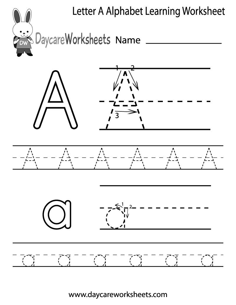Letter I Worksheets For Kindergarten Free